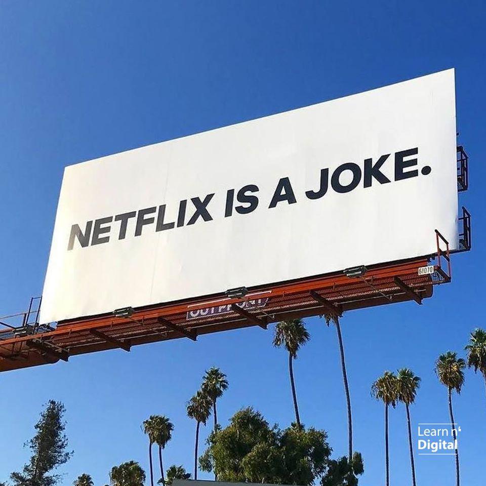 Netflix Campaign, Netflix is a joke