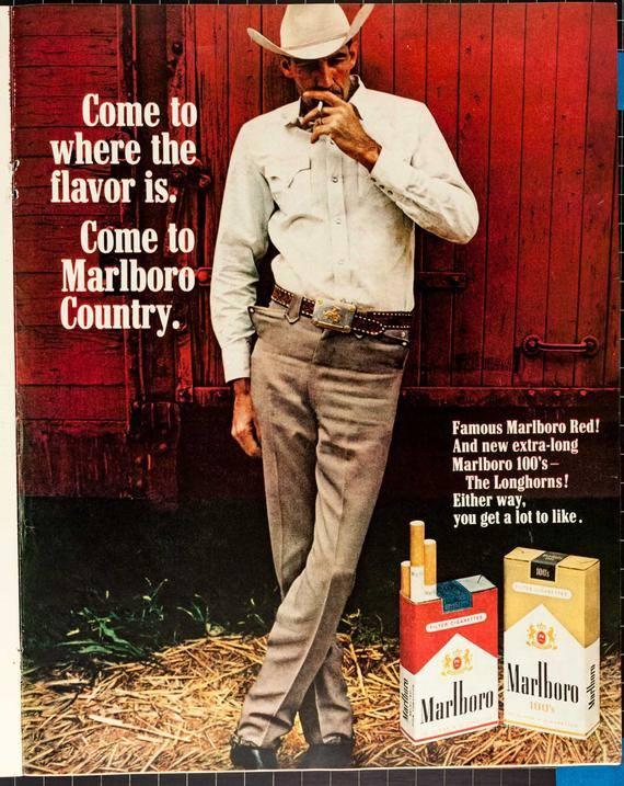 """""""The Marlboro Man"""" Campaign"""